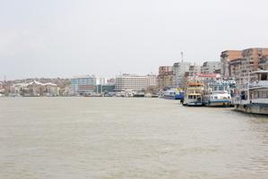 Le port de Tulcéa