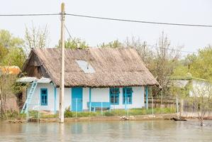 Maison le long du Danube